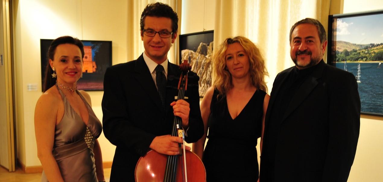 Varsavia, giugno 2013, Programma verdiano - Patrizia Cigna, P. Ruggiero, Lucrezia Proietti, L. De Lisi