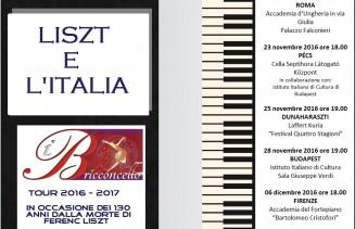 Liszt e l'Italia 2016 - 2017